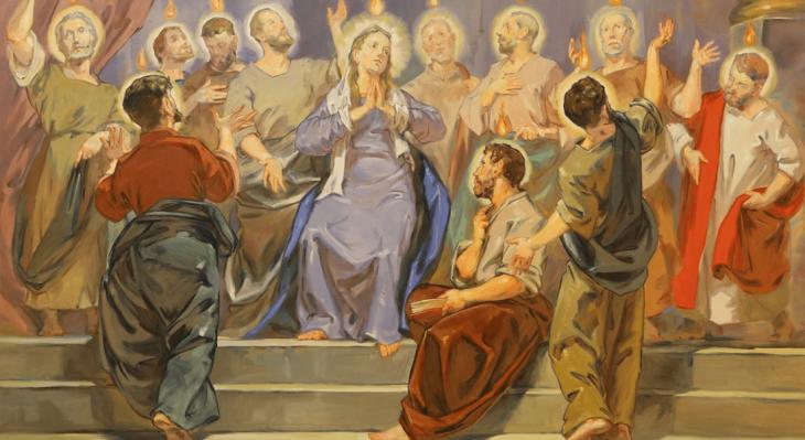 31 maja-Uroczystość Zesłania Ducha Świętego