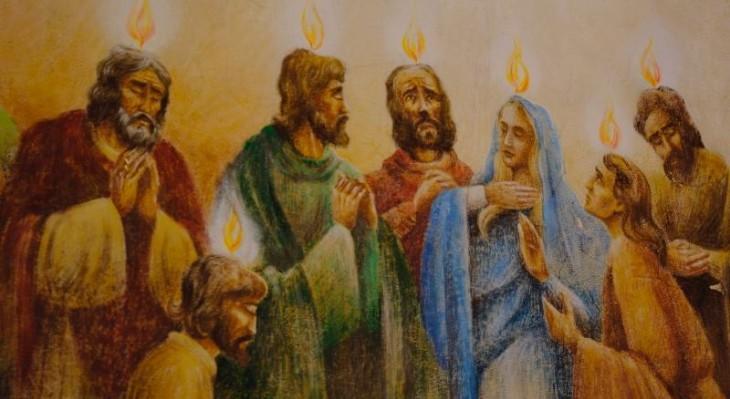 9 czerwca-Uroczystość Zesłania Ducha Świętego